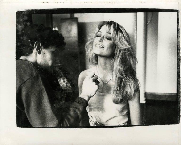 Andy Warhol, Photograph of Farrah Fawcett Majors, 1979