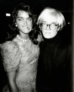 Brooke Shields with Funny Face & Andy Warhol
