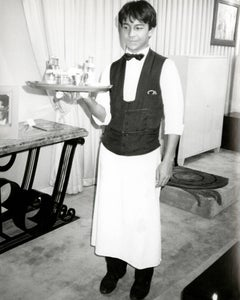 Young Waiter in Paris