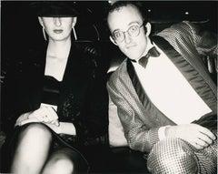 Keith Haring and Julia Gruen
