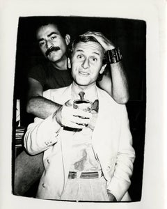 Andy Warhol, Photograph of Victor Hugo and Thomas Ammann, circa 1980