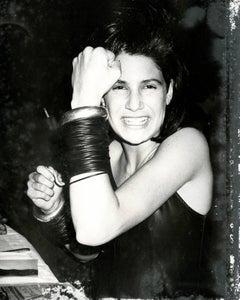 Andy Warhol, Photograph of Elizabeth Saltzman, 1985