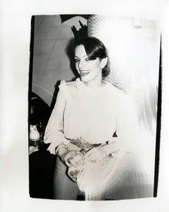 Andy Warhol, Photograph of Loulou de la Falaise, circa 1979