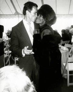 Arnold Schwarzenegger & Grace Jones at His Wedding to Maria Shriver