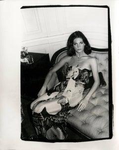 Andy Warhol, Photograph of Barbara Allen, circa 1978