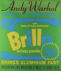 Andy Warhol, Brillo for the Pasadena Art Museum, 1970, Serigraph in Colors