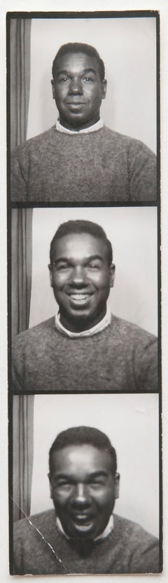 Andy Warhol, Photo Booth Strip of Bobby Short, circa 1960s