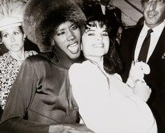 Andy Warhol, Photograph of Grace Jones and Maria Shriver Schwarzenegger, 1986