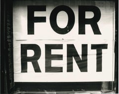 Andy Warhol, 'For Rent', Photograph of a Sign, circa 1980s