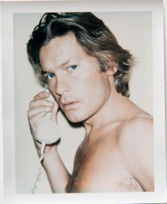 Andy Warhol, Polaroid Photograph of Helmut Berger, 1973