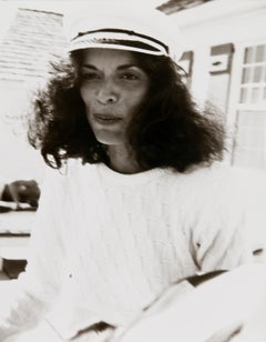 Andy Warhol, Photograph of Bianca Jagger in Montauk, 1982