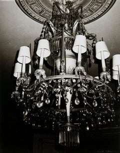 Andy Warhol, Photograph of Chandelier in Paris, 1983