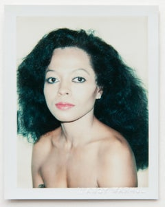 Andy Warhol, Polaroid Photograph of Diana Ross, 1981