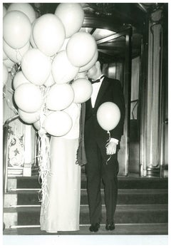 Andy Warhol, Photograph of a Couple with Balloons at the Plaza Hotel, circa 1979