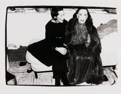 Andy Warhol, Photograph of Diana Vreeland and Martha Graham, 1980