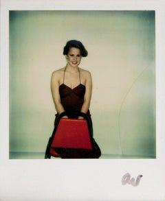 Andy Warhol, Polaroid Photograph of Linda Blair, 1975