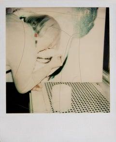 Andy Warhol, Polaroid Photograph of Andy Warhol Painting, 1980