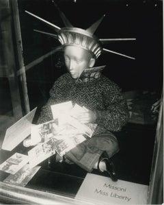 Andy Warhol, Photograph of Liberty Mannequin, circa 1986