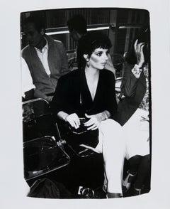 Andy Warhol, Photograph of Liza Minnelli, 1982