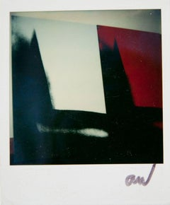 Andy Warhol, Black, Red and White Abstract, Polaroid Photograph, 1978