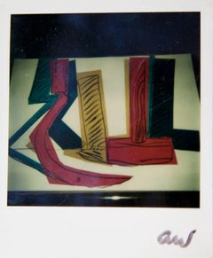 Andy Warhol, Colorful Hammer & Sickle, Polaroid Photograph, 1977