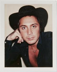 Andy Warhol, Polaroid Photograph of Paul Anka, 1975