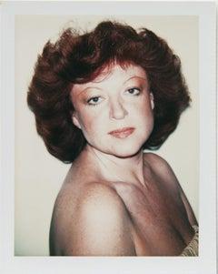 Andy Warhol, Polaroid Photograph of Régine (Zylberberg), 1977