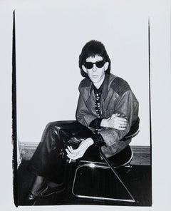 Andy Warhol, Photograph of Ric Ocasek (The Cars), 1980