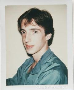 Andy Warhol, Polaroid Photograph of Ron Reagan, Jr., 1980