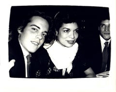 Andy Warhol, Photograph of John Stockwell and Bianca Jagger circa 1980