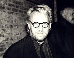 Andy Warhol, Photograph of Joseph Kosuth circa 1985