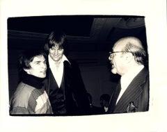Andy Warhol, Photograph of Rudolf Nureyev, Bruce Jenner, and Ahmet Ertegen