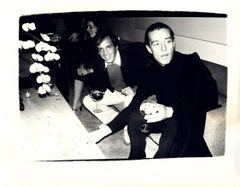 Andy Warhol, Photograph of Steve Rubell and Halston circa 1979