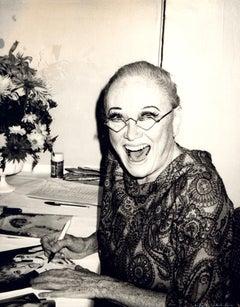 Andy Warhol, Photograph of Phyllis Diller circa 1983