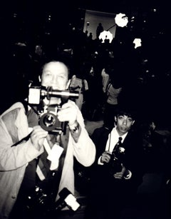Andy Warhol, Photograph of Ron Galella, 1980s