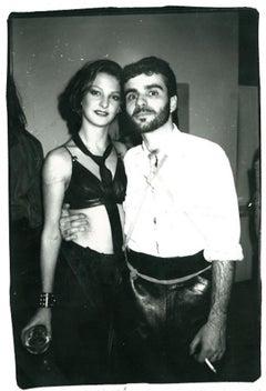 Andy Warhol Photograph, Gigi Williams and Ronnie Cutrone circa 1978