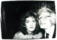 Andy Warhol, Photograph with Catherine Guinness circa 1981