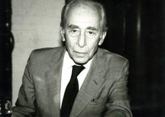 Andy Warhol, Photograph of Leo Castelli circa 1985