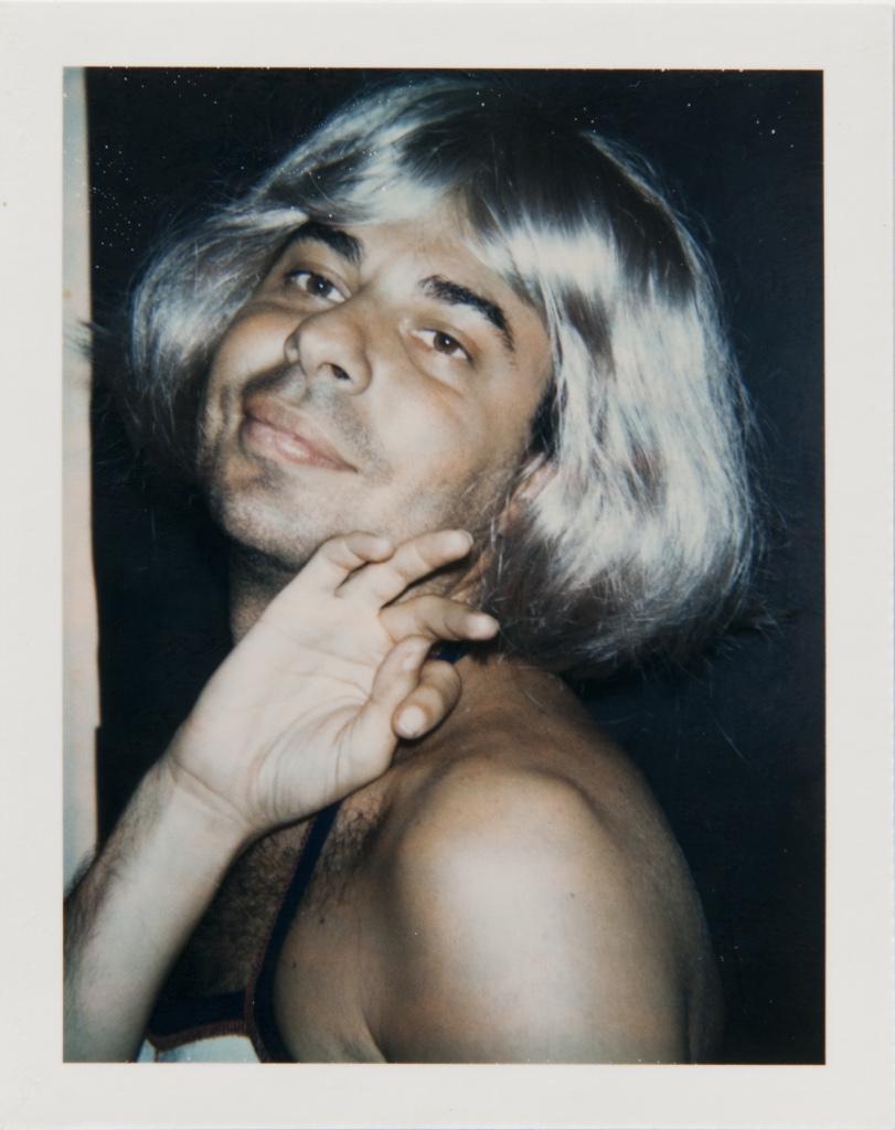 Andy Warhol, Polaroid Photograph of Bob Colacello in Drag, 1974