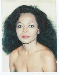Andy Warhol, Polaroid Photograph of Diana Ross, 1981
