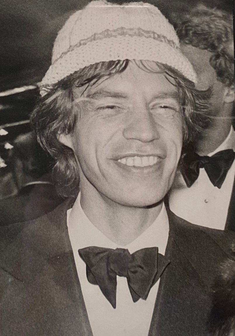 Mick Jagger in Hat