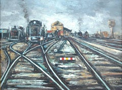 Fugas; Daroca Rafael; Spanish 1927; oil on canvas