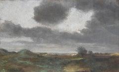 Alfred Sisley (British 1839 - 1899); Landscape; pastel on paper