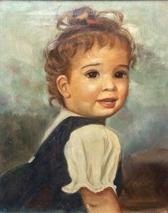 Cutie Pie; Monique Baudaux; Late 20th; oil on canvas;