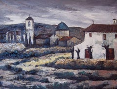 Aldea; Daroca Rafael; Spanish 1927; oil on canvas