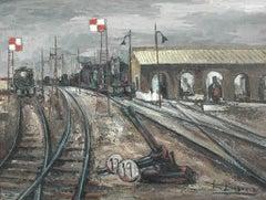 Vias Entreuzadas; Daroca Rafael; Spanish 1927; oil on canvas
