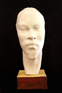 Head of a Man; Bernhard D. Sopher (American-German 1879 - 1949); earthenware