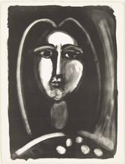 Pablo Picasso - TÊTE DE FEMME: FRANCOISE