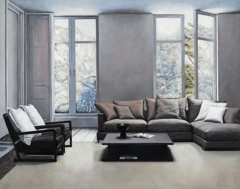 Nick Patten Interior Painting - Mirage