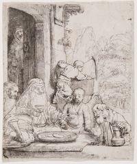 Abraham Entertaining the Angels